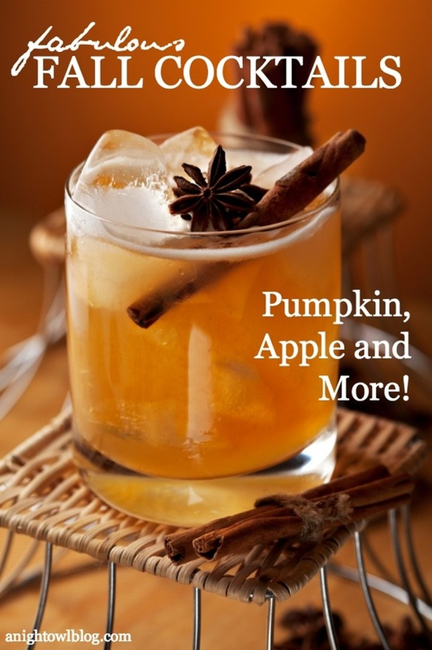 Fabulous fall party ideas the sassaby party co for Fall cocktail ideas