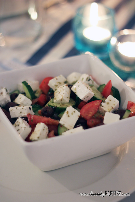 Greek Salad by Sassaby Parties