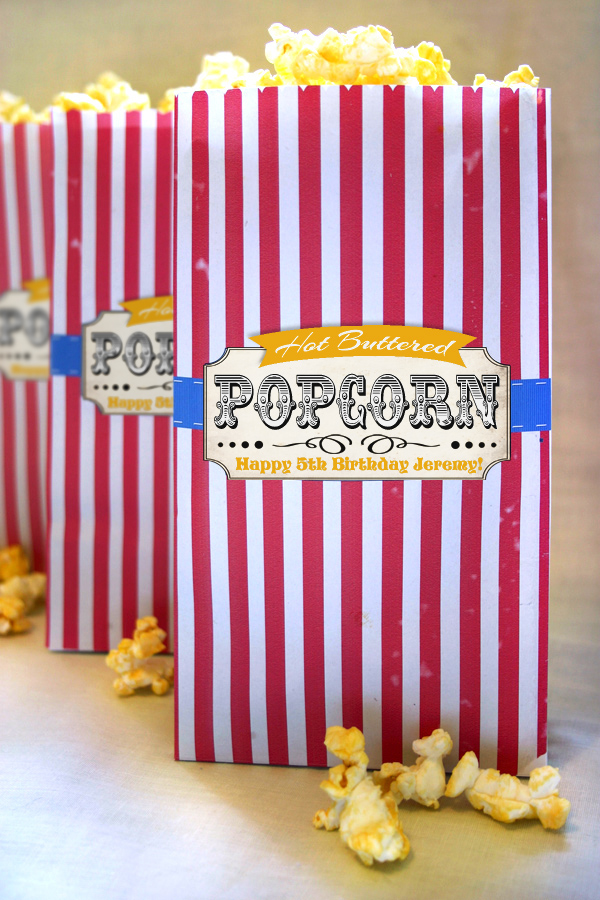 Old Fashioned Popcorn Bags