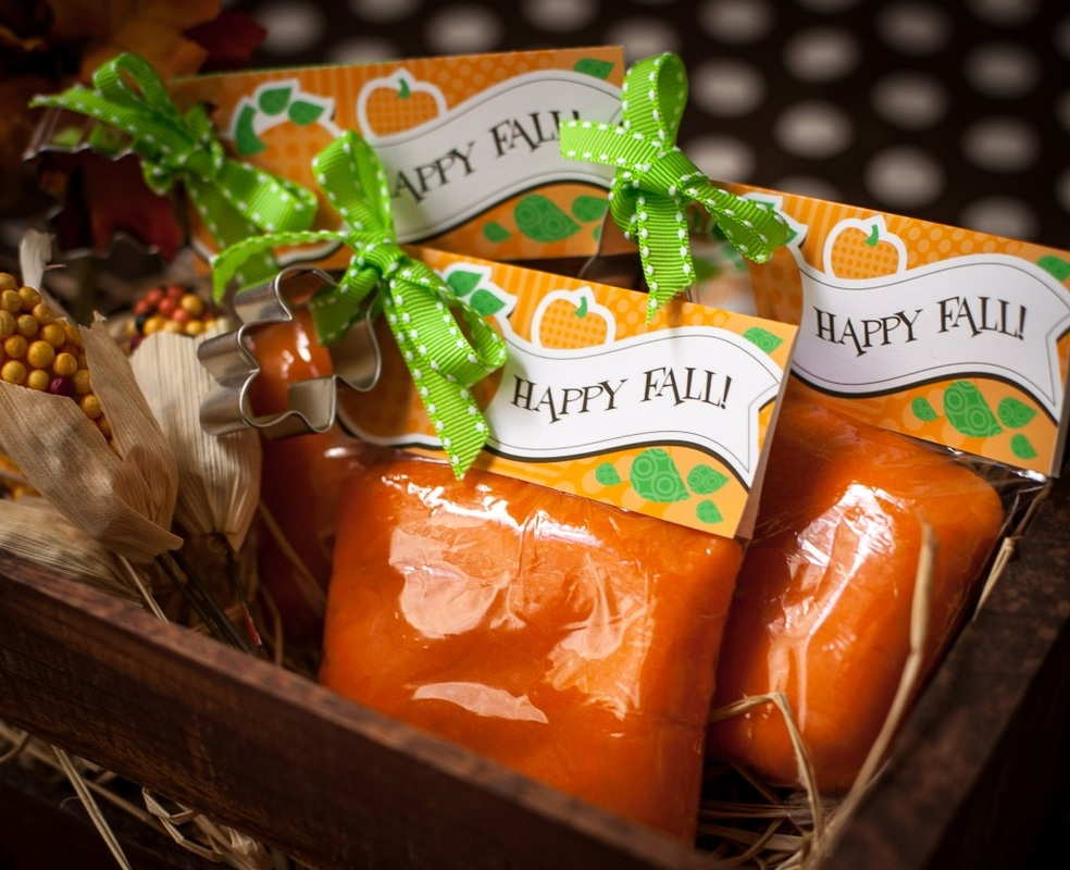 Playdough Fall Party Favor from Project Nursery