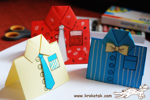 Free Father's Day Gift Card printable templates from Krokotak.com