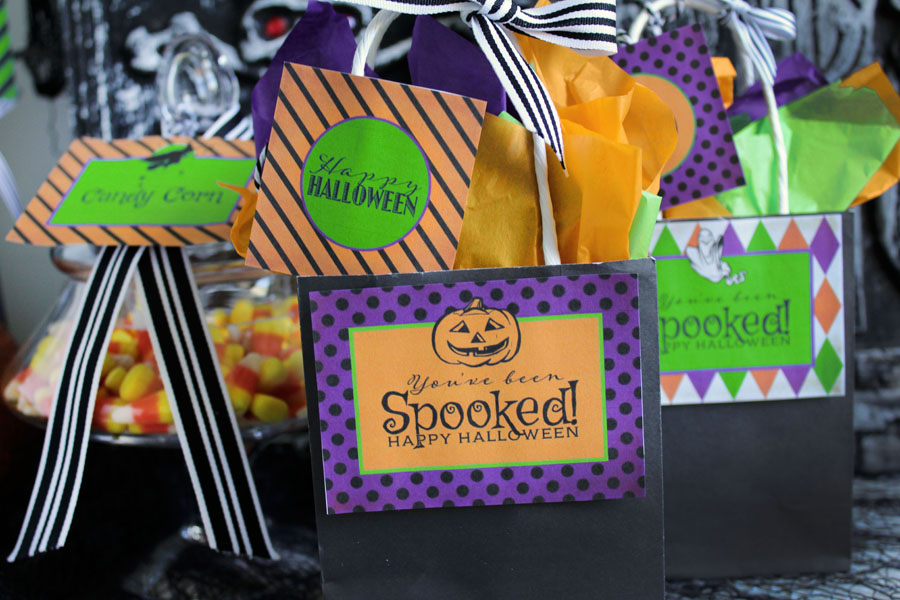 Spooky & Spunky Halloween Collection Free Printable from Sassaby Parties