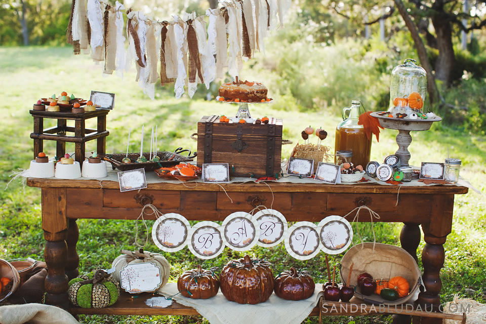 Rustic Fall Baby Shower from Whimsically Detailed Events