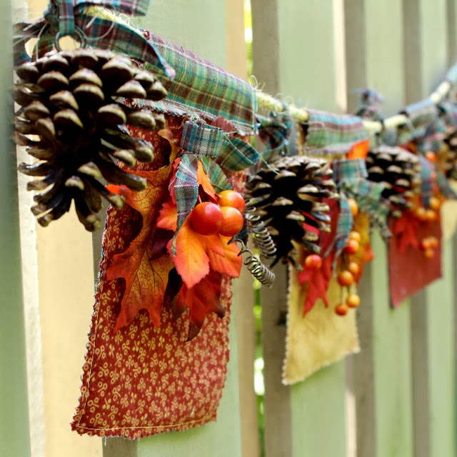 Rustic Fall Banner Tutorial from Another Bright Idea