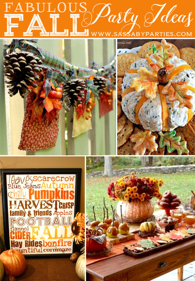 Fabulous Fall Party Ideas from Sassaby Parties