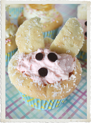 Easter Bunny Cupcakes by Sassaby Parties