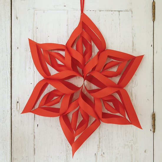 Make your own Christmas stars from House to Home UK